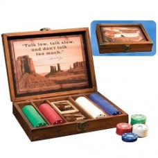 john wayne poker set