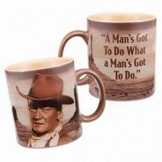 john wayne mug