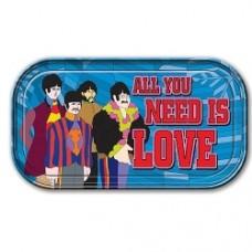 Beatles Placca metallo magnete