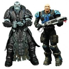 Gears of War General Raam vs. Kim Action Figures
