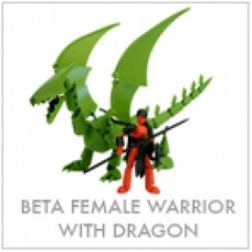 stikfas beta female wariors with dragon