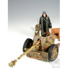 21st Century Toys 1/18 German PaK 40 Camo w/Figure