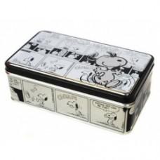 snoopy scatola metallo