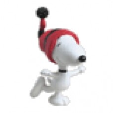 Peanuts Snoopy pattinatore