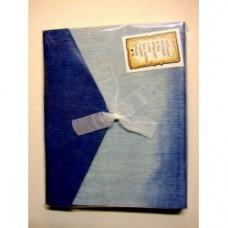 Album azzurro blu
