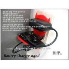 supporto per cellulare e carica batterie devil