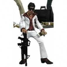 Scarface action figure giacca bianca