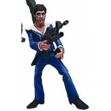 scarface action figure giacca blu