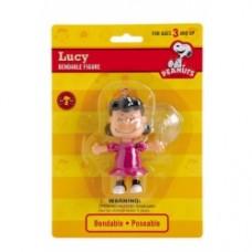 Peanuts lucy pieghevole con ventosa