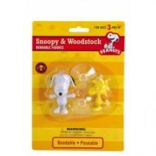 Peanuts snoopy e woodstock pieghevole con ventosa
