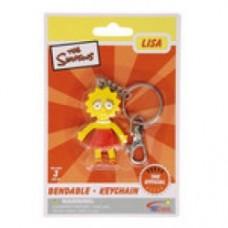 simpsons Lisa pieghevole porta chiavi