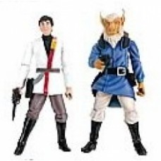 star wars comic pack WEDGE ANTILLES & BORSK FEY'LYA