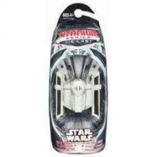 star wars titanium series darth vades starfighter