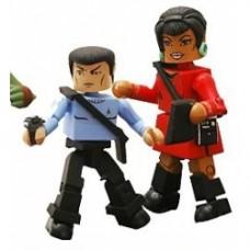 star trek minimates spock uhura