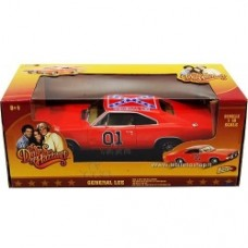 Duke of Hazzard Diecast Model 1/18 Dodoge Charger General Lee