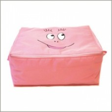 barbapapa scatola in stoffa grande rosa
