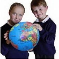 mega globe gonfiabile