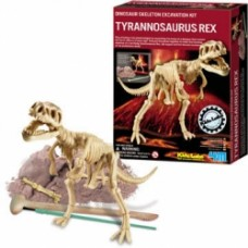 dinosaur skeleton excavation kit tirannosaurus rex