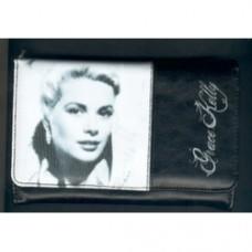grace kelly portafoglio argento