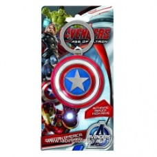 Captain America Shield Pewter Key Chain avengers