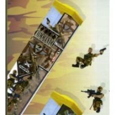 commando soldatini tubo