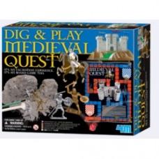 scava e gioca con la ricerca medioevale
