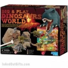 scava e gioca il mondo dei dinosauri