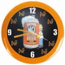 simpsons homer orologio da parete birra