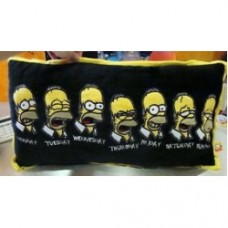 Simpsons cuscino nero