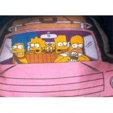 Simpsons cuscino automobile
