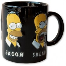 simpsons mug salad