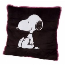 peanuts snoopy cuscino nero