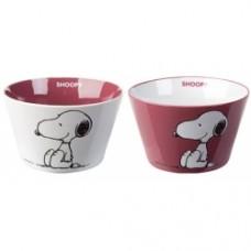 peanuts snoopy coppia tazza