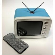 cornice digitale tv azzurra