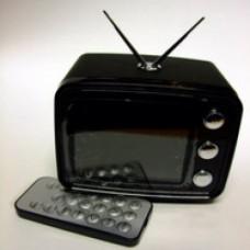 cornice digitale tv nera