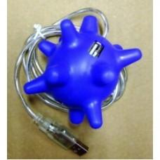 usb presa gommosa blu