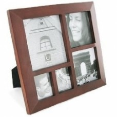 cornice multi photo frame scura