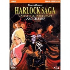HARLOCK SAGA (2DVD) (DVD)