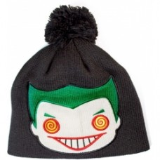 Batman - Joker Face Beanie Black
