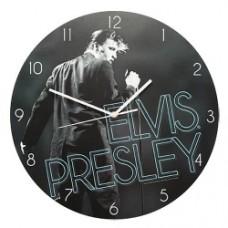 Elvis Presley Wood Wall Clock