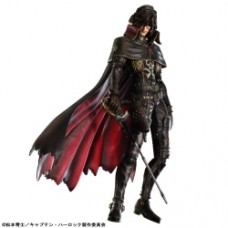 Captain Harlock Movie Play Arts Kai