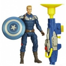 Captain America 2 Super Soldier Gear Action Figures Captain America Grapple Cannon