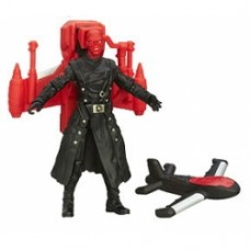 Marvel Captain America Super Soldier Gear Air Raid Red Skull Figure