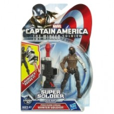 Marvel Captain America Super Soldier Gear Precision Strike Winter Soldier Figure