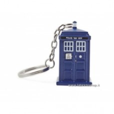Doctor Who TARDIS portachiavi torcia elettrica