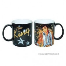 Elvis Presley The King Gold 14 oz. Mug