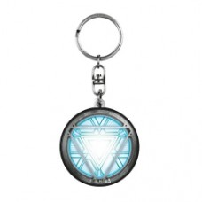 Iron Man 3 Arc Reactor Pewter Key Chain