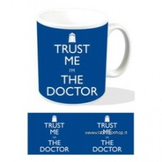 Doctor Who Mug Trust Me I'm The Doctor
