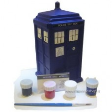 Doctor Who Paint-Your-Own TARDIS Ceramic Bank