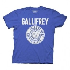 Doctor Who Gallifrey Falls No More Blue T-Shirt